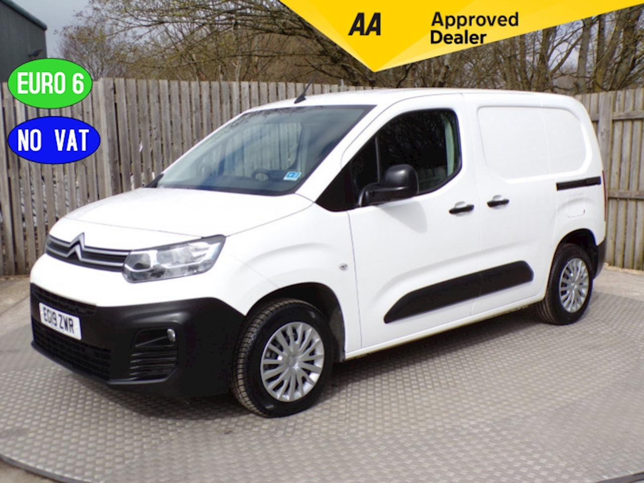 Citroen Berlingo 650 Enterprise Euro 6 NO VAT A/C