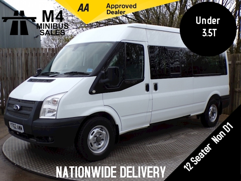 Ford Transit 350 Bus 12 Seat with Van Vault Image 1