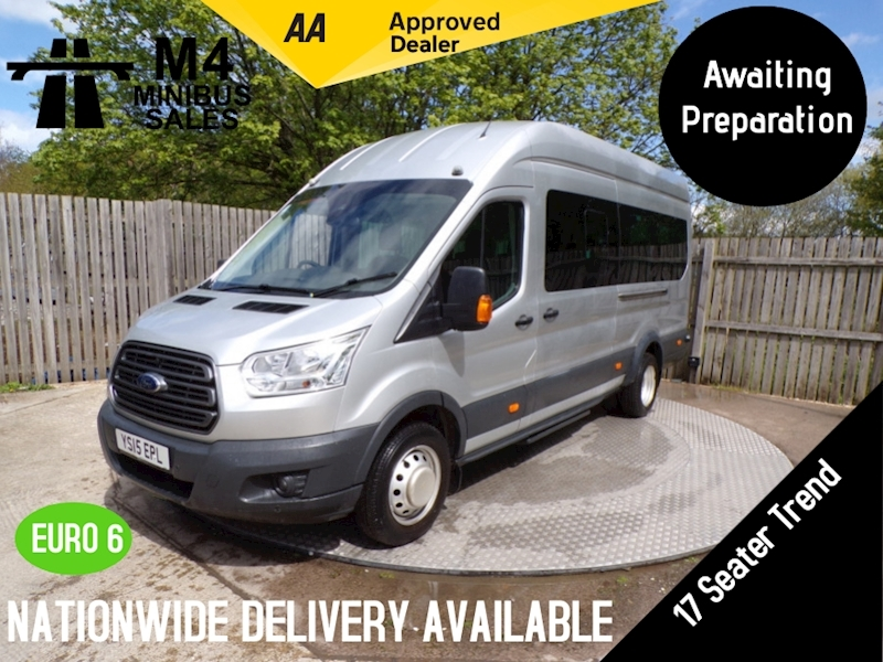 Ford Transit 460 Trend 17 SEATER FULL A/C L4 H3 COC & PSV AVAILABLE Image 1