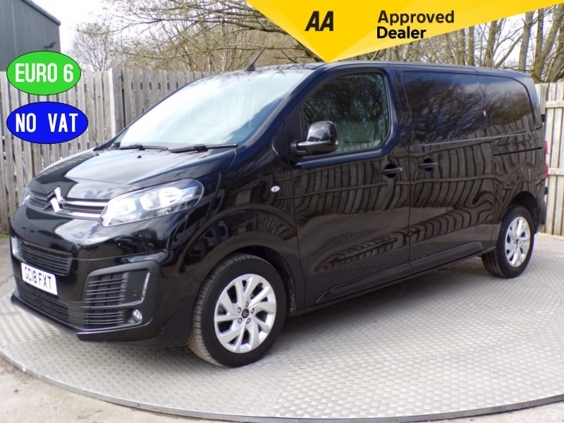 Citroen Dispatch 1250 Enterprise Plus MWB Euro 6 NO VAT Image 1