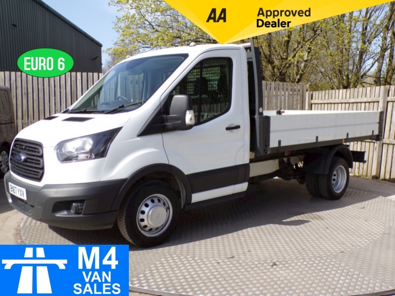 Ford Transit 350 Single Cab 1 Stop Body Tipper Euro 6 Image 1