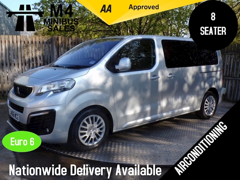 Peugeot Traveller 8 Seater Blue Hdi Active Image 1