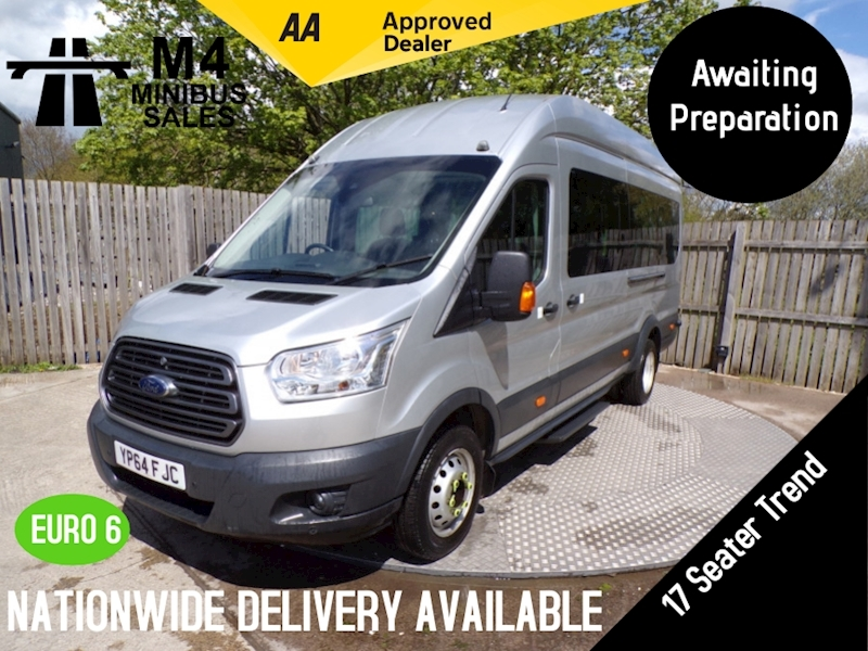Ford Transit 460  TDCi 17 Seater Trend A/C Tacho Image 1