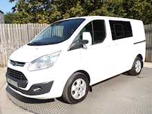 Ford Transit Custom Crew Van SWB Ltd Euro 6 - Thumb 1