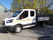 Ford Transit 350 Crewcab Tipper 1 Stop Body Euro 6 - Thumb 1