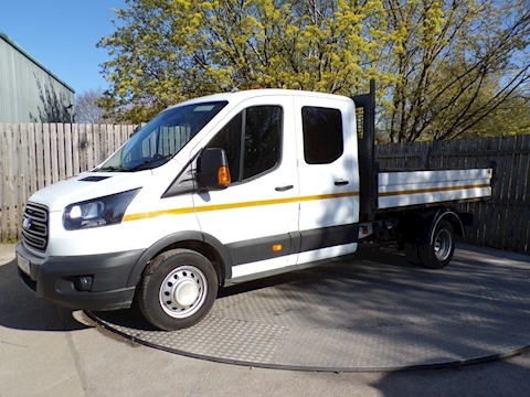 Transit 350 Crewcab Tipper 1 Stop Body Euro 6 Tipper 2.0 Manual Diesel