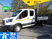 Ford Transit 350 Crewcab Tipper 1 Stop Body Euro 6 - Thumb 0
