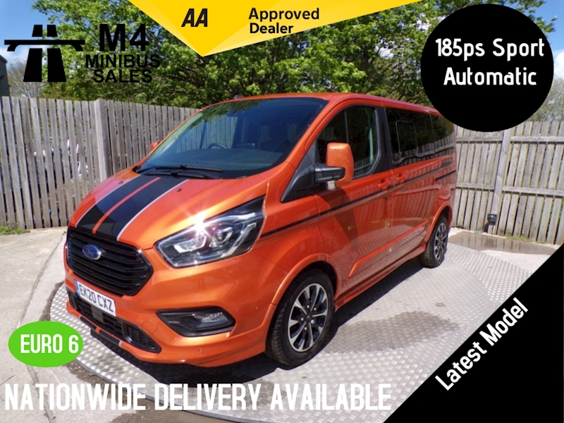 Ford Tourneo Custom 320 Sport Ecoblue L1 8 Seater Image 1
