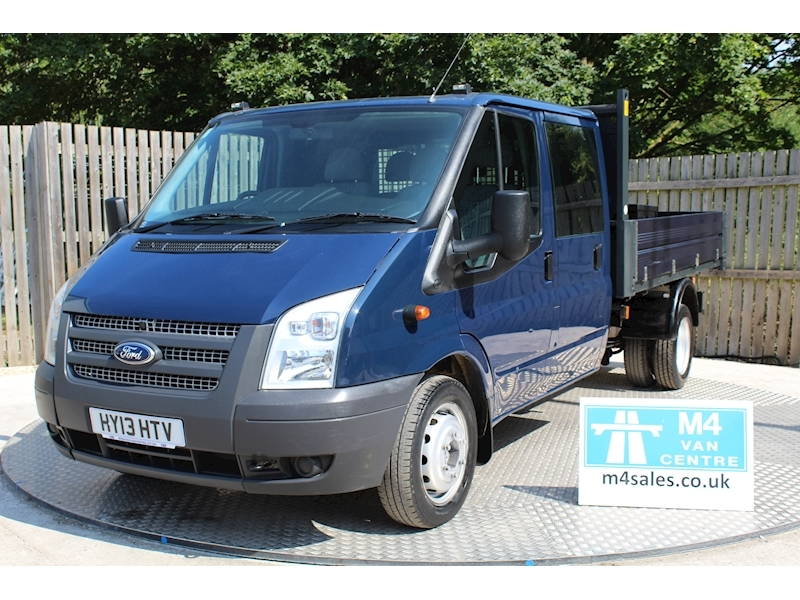 Ford 350 Transit 350 Crewcab tipper 100ps Image 1
