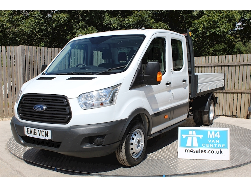Ford Transit 350 DOUBLE CAB 1 STOP TIPPER Image 1