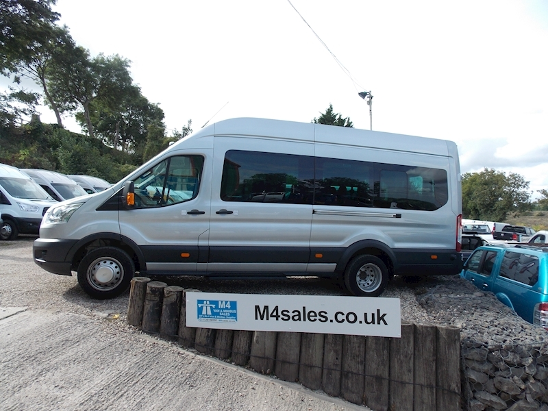 Ford Transit 155ps, 17 seat trend,sat nav & camera Image 1