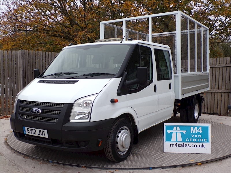 Ford Transit 350 Crewcab tipper With cage A/c Image 1