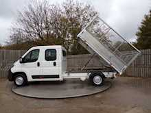 Citroen Relay 35 L3 CREWCAB CAGED TIPPER - Thumb 8