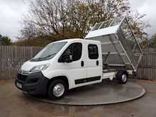 Citroen Relay 35 L3 CREWCAB CAGED TIPPER - Thumb 9