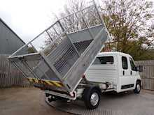 Citroen Relay 35 L3 CREWCAB CAGED TIPPER - Thumb 12