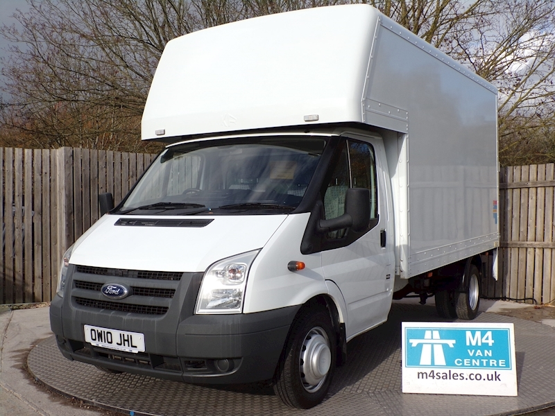 Ford Transit 350 LUTON LWB WITH TAIL LIFT Image 1