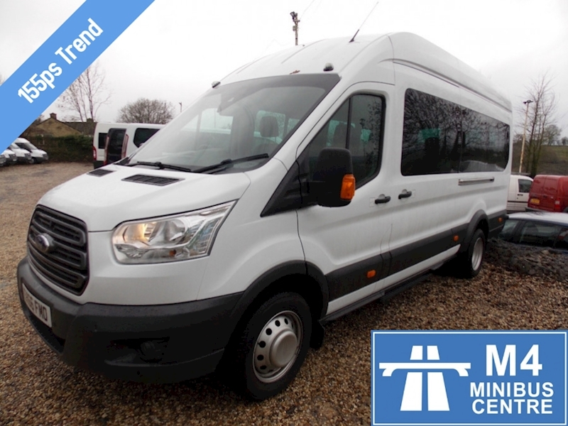 Ford Transit 155ps,17st trend,full a/c Image 1