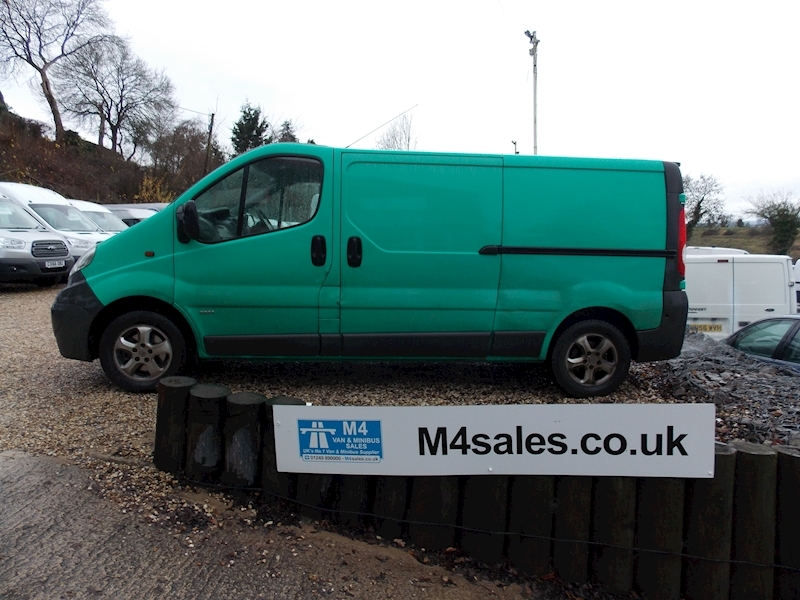 Vauxhall Vivaro 2900 Cdti 115ps lwb,alloys.**No Vat** Image 1
