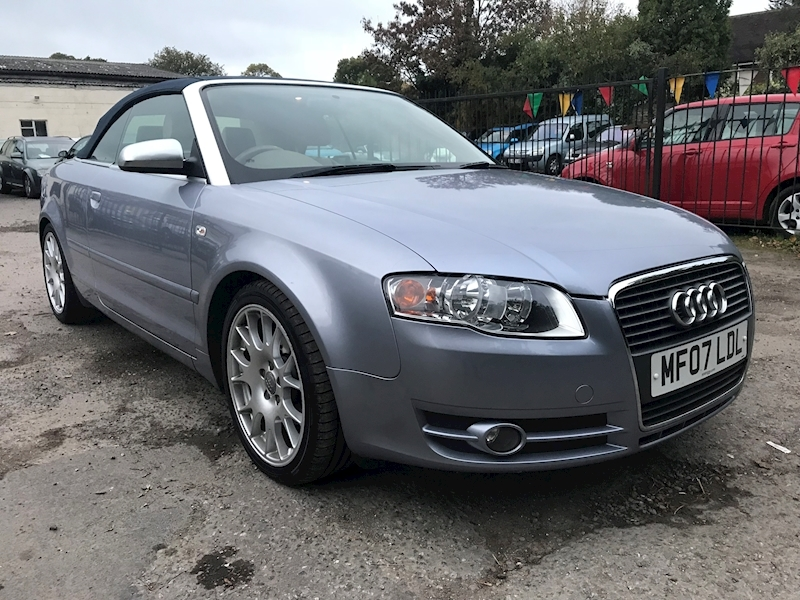 A4 Tdi Sport Dpf Convertible 2.0 Manual Diesel