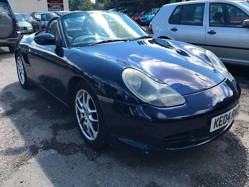 Boxster 24V Convertible 2.7 Manual Petrol