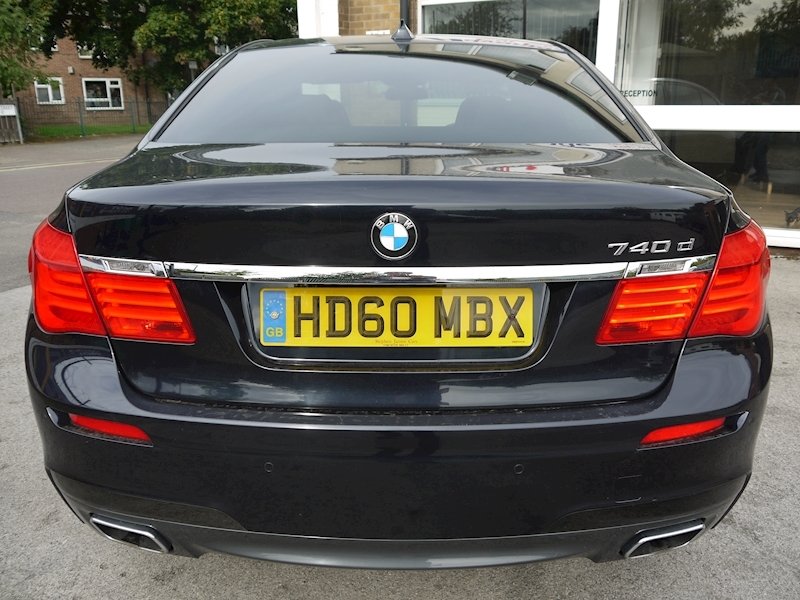 Bmw 7 Series 740D M Sport Luxury Edition - Large 8