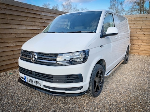 Transporter T28 Tdi P/V Startline Bmt Van With Side Windows 2.0 Manual Diesel