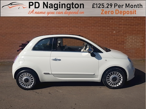 500 C Lounge Convertible 1.2 Manual Petrol