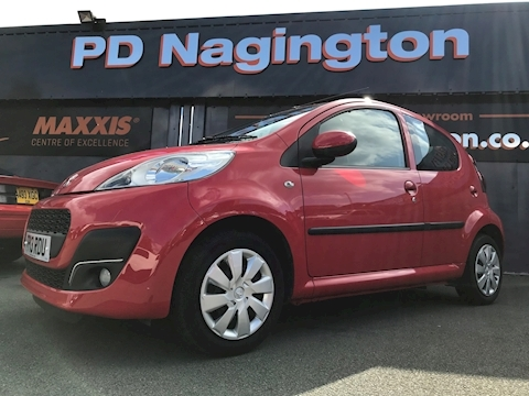 107 Active Hatchback 1.0 Manual Petrol