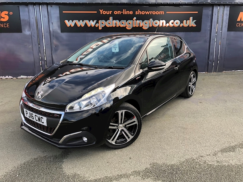 208 Blue Hdi Gt Line Hatchback 1.6 Manual Diesel