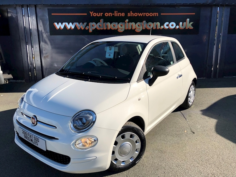 500 Pop 1.2 3dr Hatchback Manual Petrol