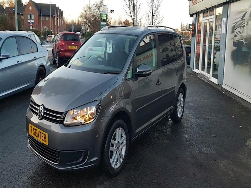 Volkswagen Touran Se Tdi Bluemotion Technology Dsg - Large 1