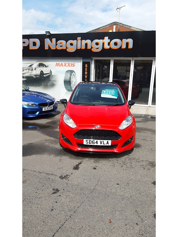 Ford Fiesta Zetec S Red Edition - Large 0