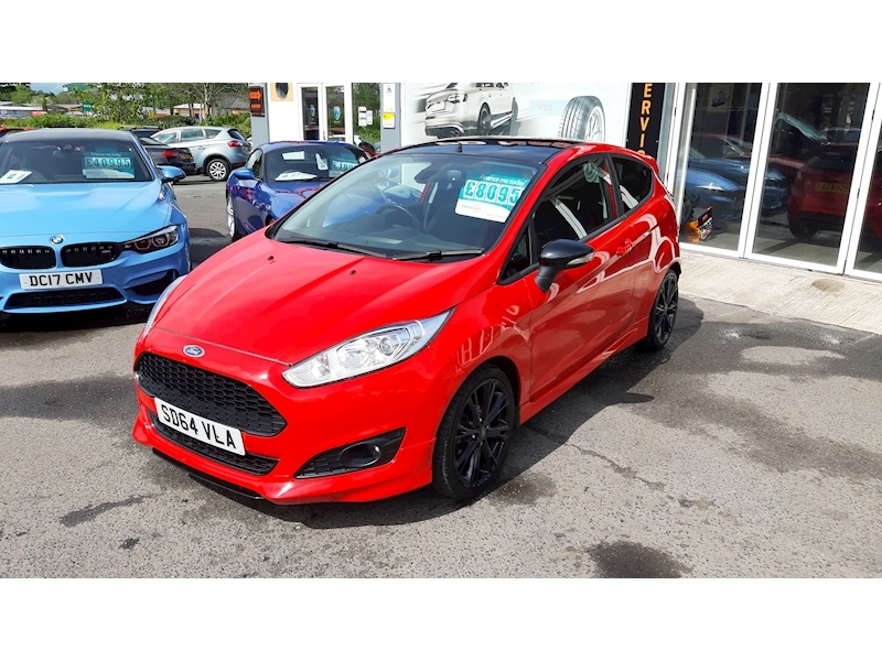 Ford Fiesta Zetec S Red Edition - Large 3