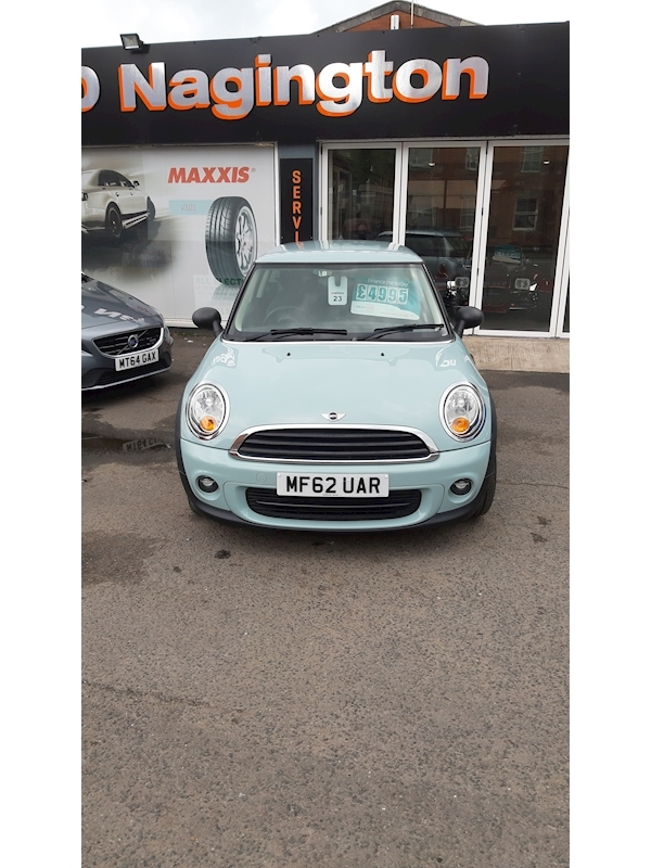 Mini First Hatchback 1.6 Manual Petrol