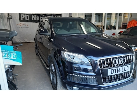 Q7 Tdi Quattro S Line Plus Estate 3.0 Automatic Diesel