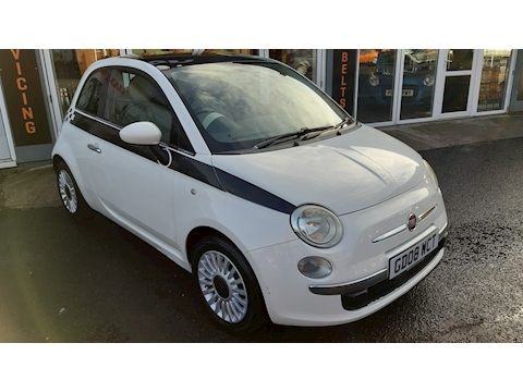 Fiat 500 500 1.4 Lounge Hatchback 1.4 Manual Petrol