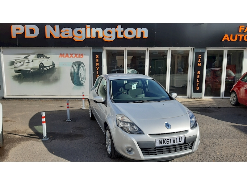 Clio Dynamique Tomtom 16V 1.1 3dr Hatchback Manual Petrol