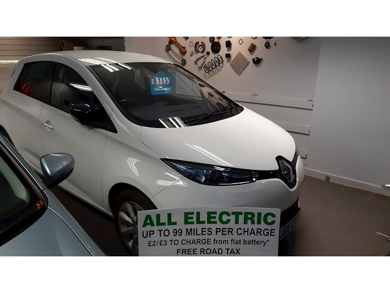 Zoe Dynamique Nav Hatchback 0.0 Automatic Electric
