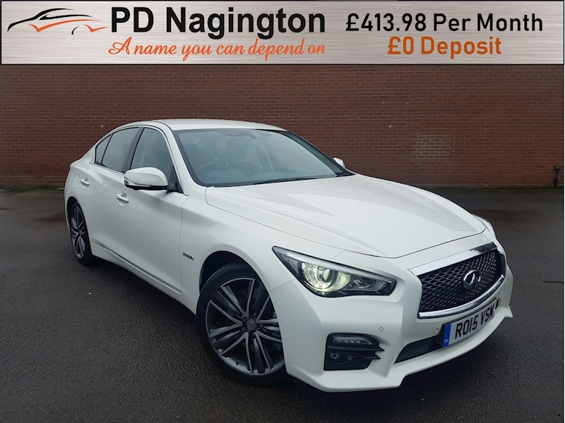 Q50 S Sport Tech Hybrid Awd Saloon 3.5 Automatic Petrol/Electric