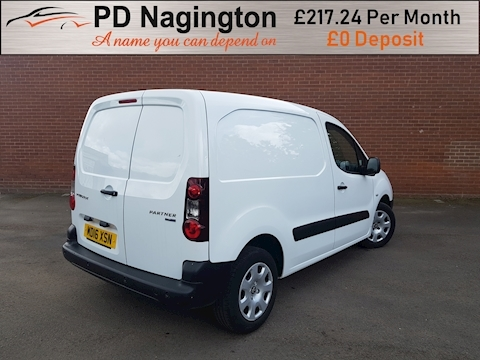 Partner Blue Hdi Professional L1 Panel Van 1.6 Manual Diesel