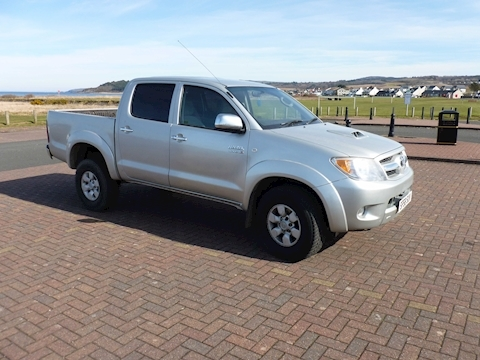 Hilux 4X4 D-4D D/C Light 4X4 Utility 3.0 Manual Diesel