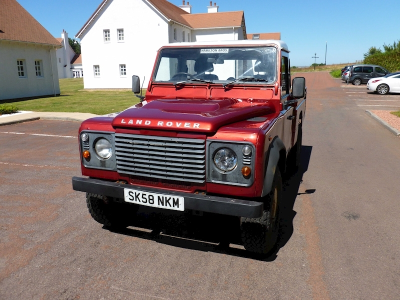 Defender 110 Dcb P/U Lwb Pick-Up 2.4 Manual Diesel