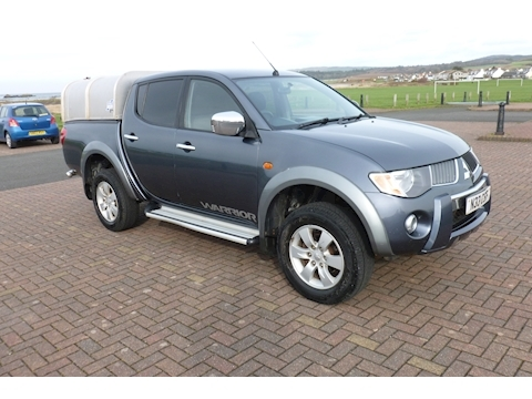 L200 Warrior Di-D L200 WARRIOR DI-D D/C Pick-Up 2.5 Manual Diesel