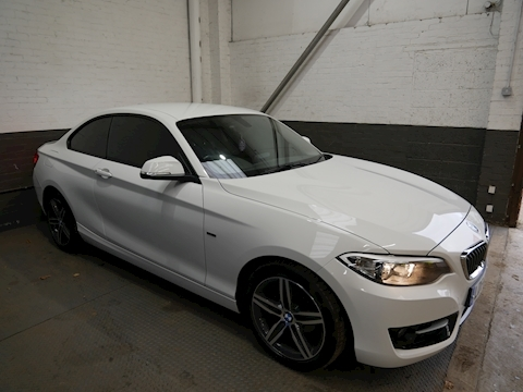 Bmw 2 Series 218D Sport Coupe 2.0 Manual Diesel
