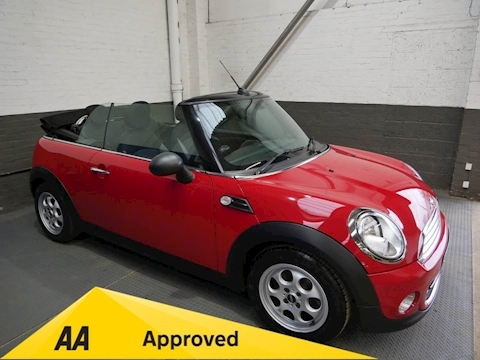 Mini Mini One Convertible 1.6 Manual Petrol