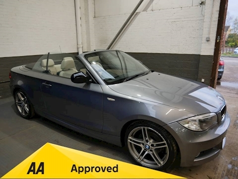 BMW 1 Series 118D Sport Plus Edition Convertible 2.0 Manual Diesel