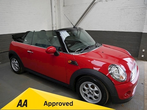Mini Mini Cooper Convertible 1.6 Manual Petrol