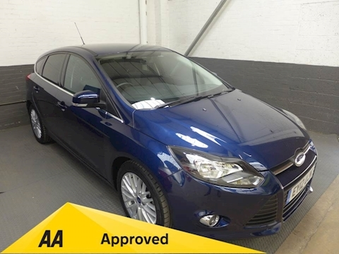 Ford Focus Zetec Hatchback 1.6 Manual Petrol