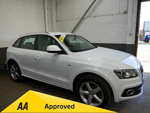 Audi Q5 Tdi Quattro S Line Estate 2.0 Manual Diesel