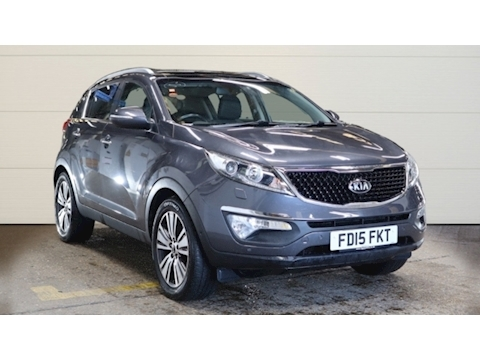 Kia Sportage Crdi 4 Isg Estate 1.7 Manual Diesel